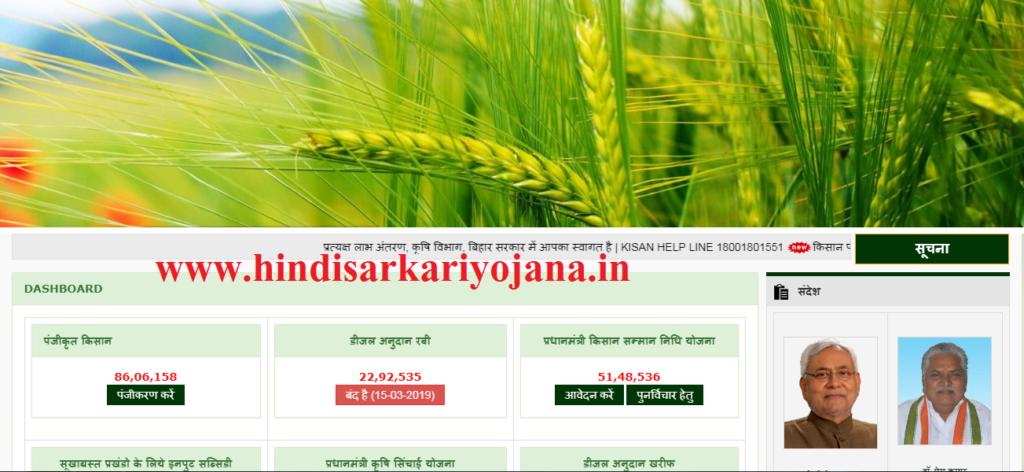 Bihar Kisan Samman Nidhi Yojana