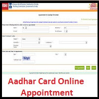 Aadhar Card Online Appointment 22