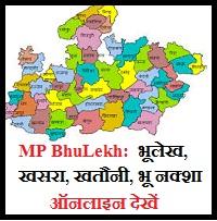 MP Bhulekh 2020 Khasra
