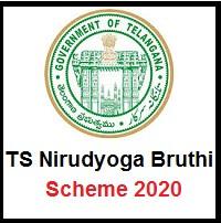 TS Nirudyoga Bruthi Scheme 2020