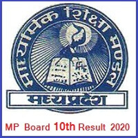 MP Board 10th Result 2020